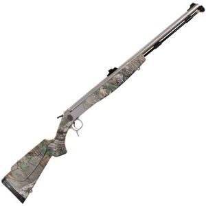 "CVA Optima V2 Northwest Break Action Black Powder Rifle .50 Caliber 26"" Barrel RealTree Xtra Green Synthetic Stock Stainless Steel Finish PR2024S"