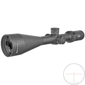 Trijicon Credo 2.5-15x56 Riflescope With Red MRAD Center Dot Reticle MOA Adjustment 30mm Tube Black