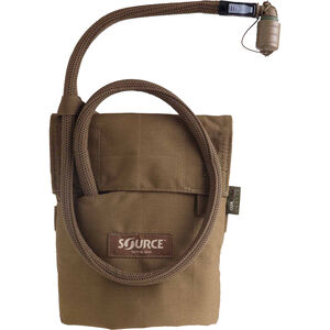 Source Tactical Kangaroo 1 Liter Hydration Pack, Nylon, Coyote, MOLLE Compatible