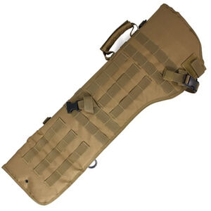 Red Rock Gear MOLLE Rifle Scabbard MOLLE Webbing Padded 600D Polyester Coyote