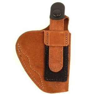 Bianchi #6D ATB Inside the Waistband Holster Colt Mustang Right Hand Suede Tan