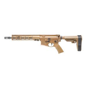 "Geissele Automatics Super Duty AR-15 Pistol 5.56 NATO 11.5"" Barrel No Magazine SMR MK16 Free Float Rail SB Tactical SBA3 Desert Dirt Color"