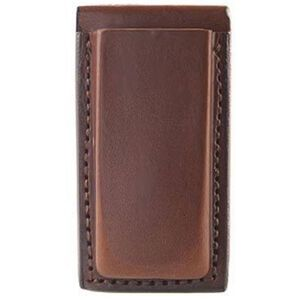 Bianchi 20A Glock 17, 19, 22, 23 Open Magazine Pouch Leather Tan