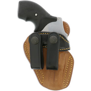 Galco Gunleather Royal Guard S&W J Frame Revolver IWB Holster Right Hand Leather Black RG158B
