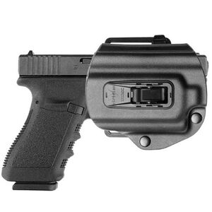 Viridian Tacloc C Series Glock 17/22/19/23 Paddle Holster Left Hand Kydex Black Finish