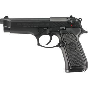 "Beretta Model 92FS Semi Automatic Handgun 9mm Luger 4.9"" Barrel 10 Rounds Black Matte Finish JS92F300"