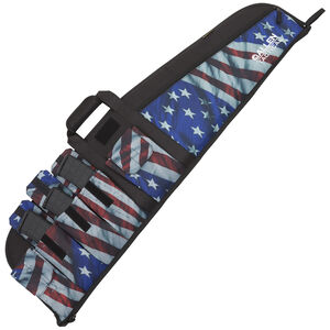 """Allen Company Victory Tactical Rifle Case 42"""" with Magazine Pockets Synthetic Endura Fabric US Flag Finish 1062"""