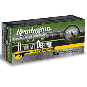 Remington Ultimate Defense .223 Remington Ammunition 20 Rounds 62 Grain Core-Lokt Ultra Bo