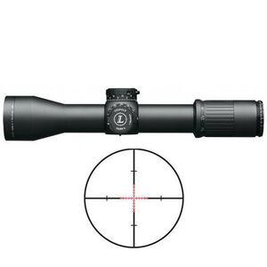 Leupold Mark 6 M5C2 3-18x44 Riflescope Illuminated TMR Reticle 34mm Tube .1 MIL Adjustment Side Focus Matte Black Finish 119214