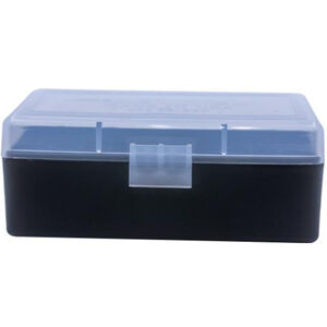 Berry's 403 Ammo Box .38/.357 50 Round Polymer Clear/Black