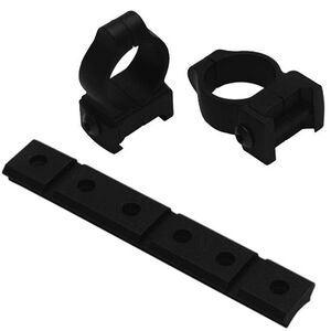 """Thompson Center Muzzleloader Base and Rings Medium Height for 1"""" Tube Encore and Omega Inline Muzzleloaders Matte Black"""