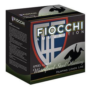 "Fiocchi Waterfowl Steel Hunting Line 12 Gauge Ammunition 3"" #1 1-1/8oz Steel Shot 1500fps"