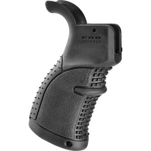FAB-Defense AR-15 Rubberized Ergonomic Pistol Grip Polymer Black