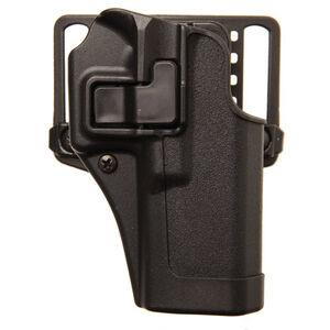 """BLACKHAWK! SERPA CQC Concealment OWB Paddle/Belt Loop Holster SIG Sauer P228/P229 3.9"""" Barrel Models Right Hand Polymer Matte Black Finish"""