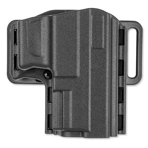 Uncle Mike's Reflex Pancake Holster Springfield XD, XDM Fullsize, Compact Right Hand Kydex Black 74271