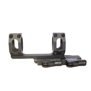 "American Defense MFG Recon 20 MOA 1-Piece Scope Mount 1"" Tube Diameter 2"" Offset Standard QD Auto Lock Lever Aluminum Black AD-RECON-20 MOA-1"