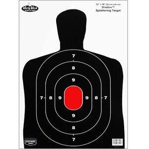"Birchwood Casey Dirty Bird 12""x18"" BC-27 Silhouette Target Splatter Effect Eight Pack 35707"