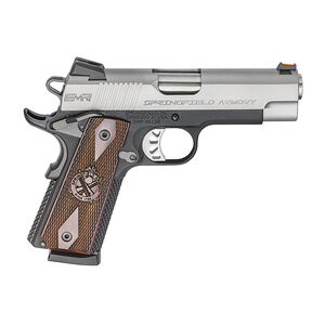 "Springfield Armory 1911 EMP Champion 9mm Luger Semi Auto Pistol 4"" Barrel 10 Rounds Two Tone"