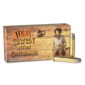 HSM Cowboy Action .45-70 Government Ammunition 20 Rounds Lead RNFP 405 Grains HSM-45-70-2-N