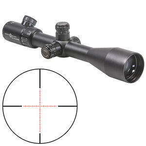 Sightmark Core TX 8.5-25x50mm Marksman Riflescope 30mm Tube 1/8 MOA Adjustment Adjustable Parallax Second Focal Plane Matte Black