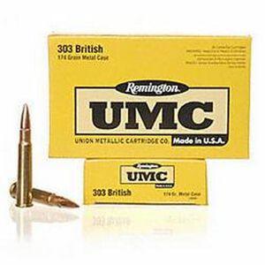 Remington UMC .303 British 174 Grain FMJ 20 Rounds