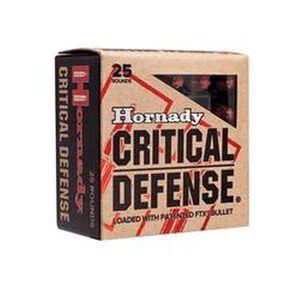 Hornady Critical Defense .32 NAA Ammunition 25 Rounds FTX 80 Grains 90070