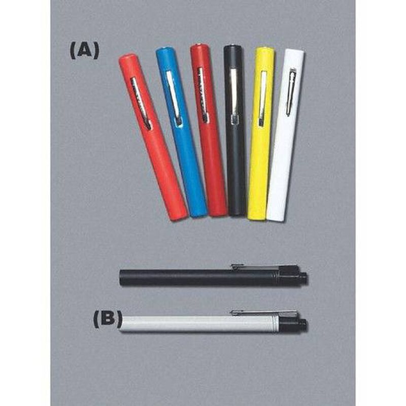 Emergency Medical International Brite-Light Reusable Penlight AAA Batteries Included 2-Pack Black 218