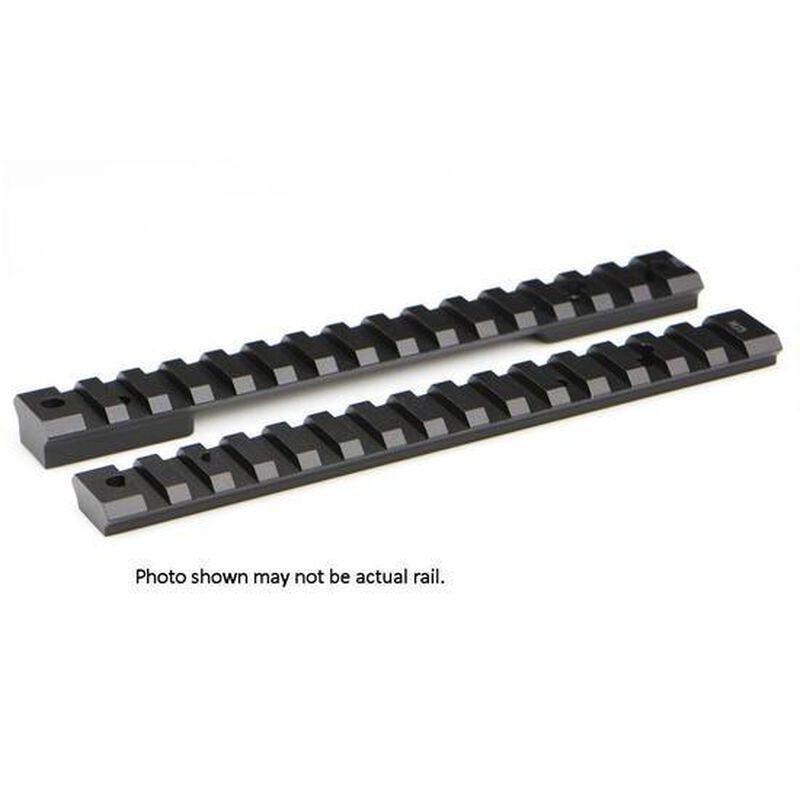 Warne Mountain Tech One Piece Picatinny/Weaver Style Scope Base Winchester 70 Long Action Aluminum Matte Black