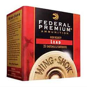 "Federal 28 Gauge Ammunition 25 Rounds 2.75"" #8 Plated 0.75 oz."