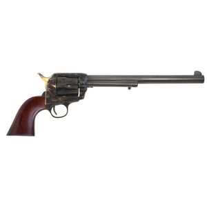 "Cimarron Frontier Buntline Revolver .45 LC 10"" Barrel 6 Rounds Walnut Grip Case Hardened Frame Blued PP558P"