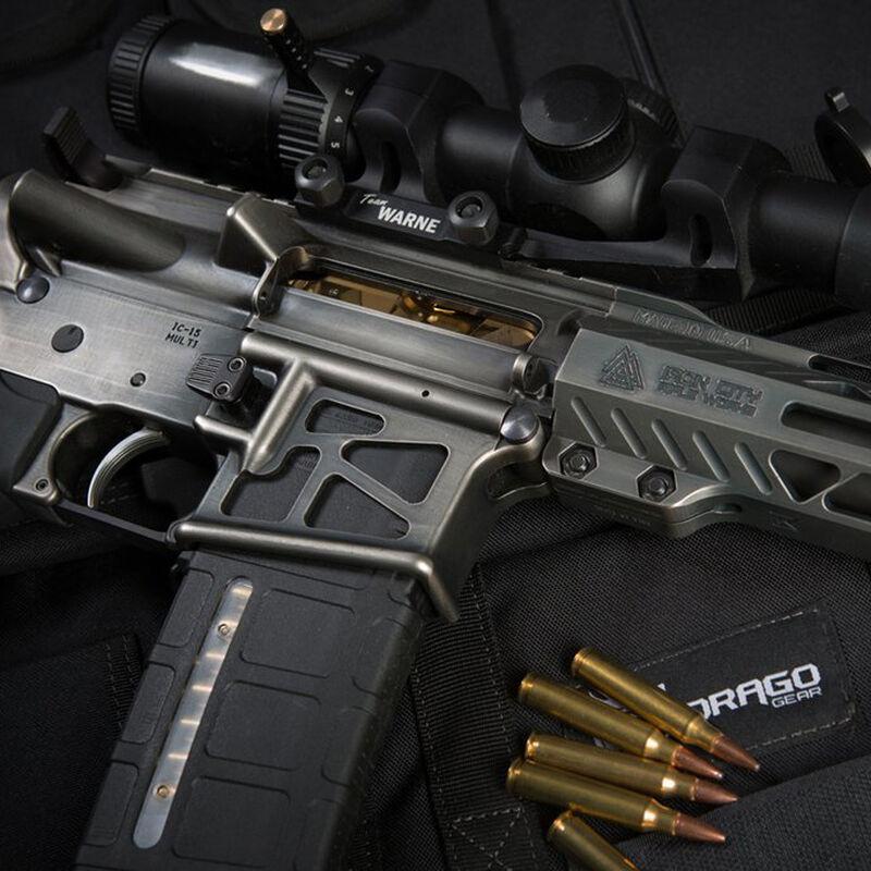 Iron City Rifle Works AR-15 Skeletonized Stripped Lower Receiver 5.56 NATO Aluminum Black