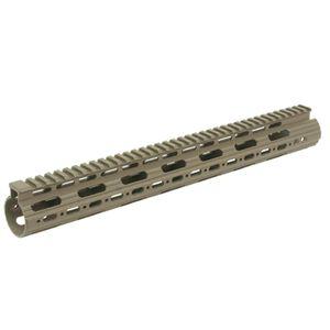 """Leapers UTG PRO AR-15 15"""" SuperSlim Free Float Handguard Aluminum MTU019SSD"""