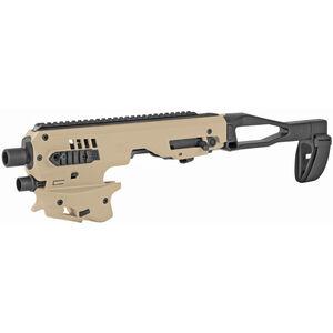 CAA MCK Micro Roni Gen 2 Conversion Kit Fits GLOCK 26/27 Chassis Pistol Brace Polymer FDE MCK26/27GEN2T