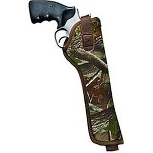 "Sidekick Hip Holster Medium and Large-Frame DA Revolvers 5"" to 6-1/2"" Barrels Size 3 Right Hand Nylon Realtree Hardwoods Camo 8003-6"