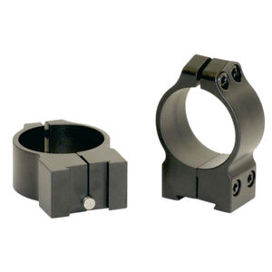"Warne Maxima Tikka 1"" High Scope Rings Steel Matte Black"