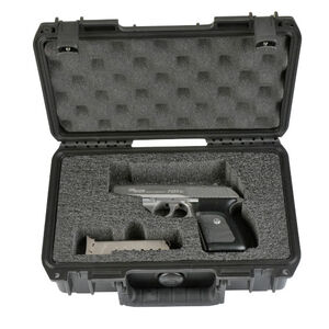 "SKB Products iSeries 1006 Custom Single Pistol Case 10.75""x6.13""x3.25"" Black 3I-1006-SP"