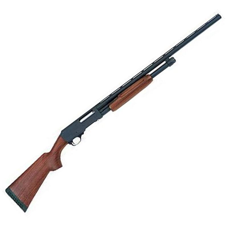 "H&R 1871 Pardner Pump Action Shotgun 20 Gauge 26"" Barrel 5 Rounds 3"" Chamber Walnut Stock Black 72252"