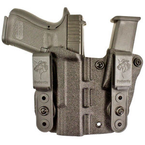 DeSantis Hidden Truth Appendix IWB Holster Fits GLOCK 19/23 Right Hand Kydex Black