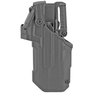 Blackhawk T-Series L3D Red Dot Sight Duty Holster Fits Glock 17/19/22/31 with TLR1/TLR2 Left Hand Polymer Black