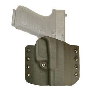 Comp-Tac Warrior Belt Holster Fits GLOCK 19/23 Right Hand Kydex Black