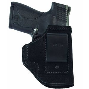 Galco Stow-N-Go IWB Holster Ruger LCP/Kel-Tec P3AT With Laser Right Hand Leather Black STO486B