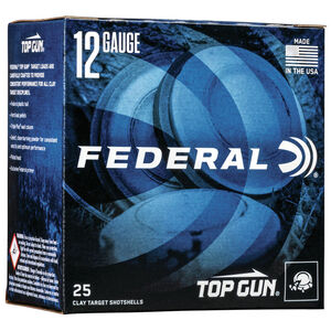"Federal Top Gun .410 Bore Ammunition 2-1/2"" Shell #8 Lead Shot 1/2 oz 1330 fps"