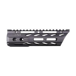 "Phase 5 AR-15 Lo-Pro Slope Nose 7.5"" Free Float Rail M-LOK Compatible 6061-T6 Aluminum Hard Coat Anodized Matte Black Finish"