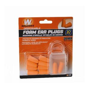 Walker Game Ear Ear Plugs NRR 30dB Rated 5 Pair Orange