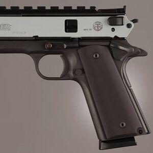 Hogue Extreme Series 1911 Government, Commander Thin Grip Aluminum Matte Black 01460