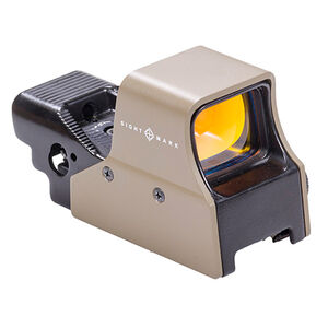 Sightmark Ultra Shot M-Spec Red Dot Reflex Sight 65 MOA Circle 1 MOA Dot Flat Dark Earth