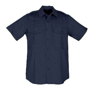 5.11 Tactical Taclite PDU Short Sleeve Class B Ripstop Shirt 2 Extra Large Tall Midnight Navy 71168