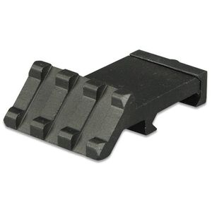 "Lion Gears AR-15 Tactical Angle Mount 45° 3 Slots 1.37"" Long Aluminum Black BM03D45"