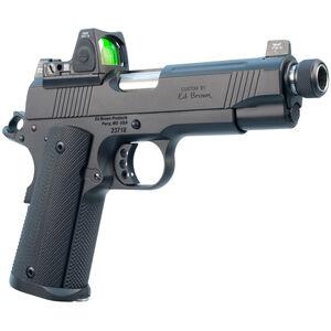 """Ed Brown Special Forces SRC Semi Auto Pistol .45 ACP 4.25"""" Threaded Barrel 7 Rounds Trijicon RMR Matte Black Finish"""
