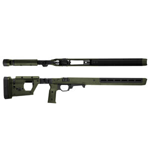 Magpul Pro Stock for Remington 700 Short Action Calibers M-LOK Modular Attachment Slots Full Billet Aluminum Skeleton Ambidextrous OD Green Finish